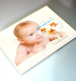 montage toile photos -bebe